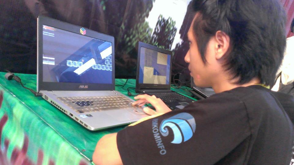 Ajang Apresiasi dan Dialog Mahasiswa Desain Teknologi Permainan  Pameran Pixel Craft