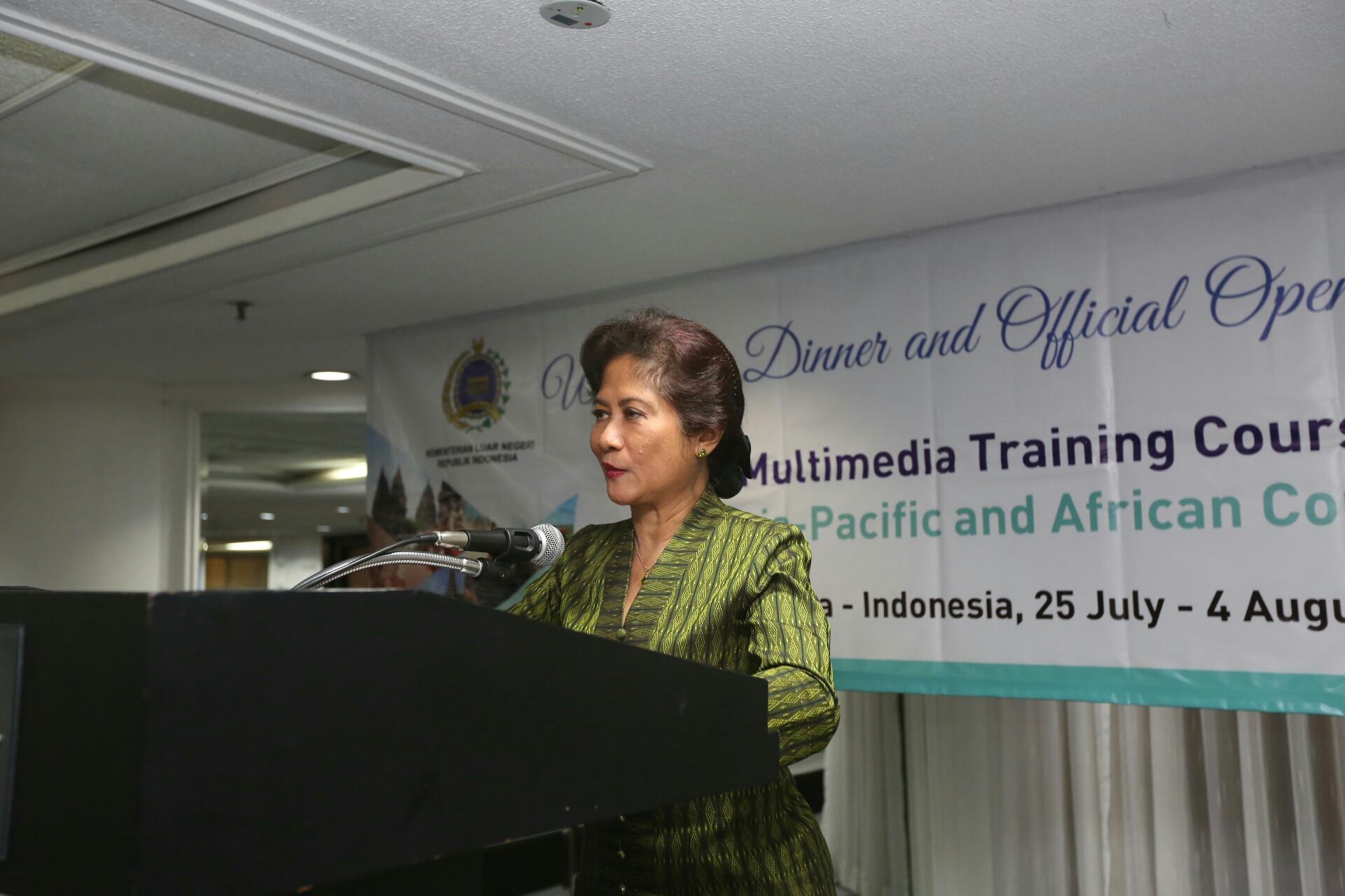 "STMM ""MMTC"" Tuan Rumah  Penyelenggaraan Training Negara –negara  Asia-Pasific dan Afrika"