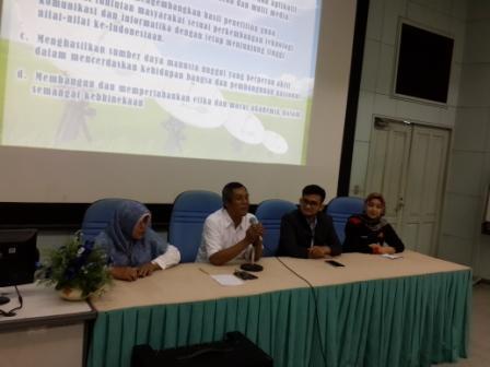 Prakerin siswa SMK Budi Luhur dan SMK Prima Unggul Kota Tangerang  di Sekolah Tinggi Multi Media Yogyakarta