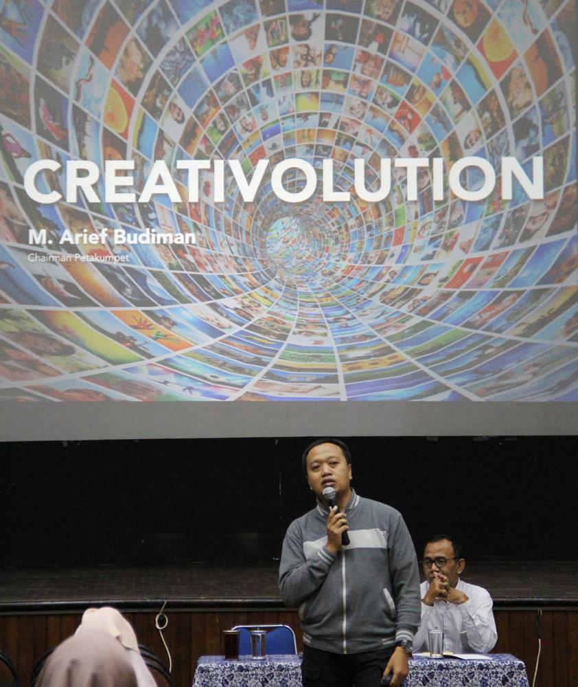 CEO Petak Umpet : Creativolution,  Lebih dari Sekedar Kreativitas