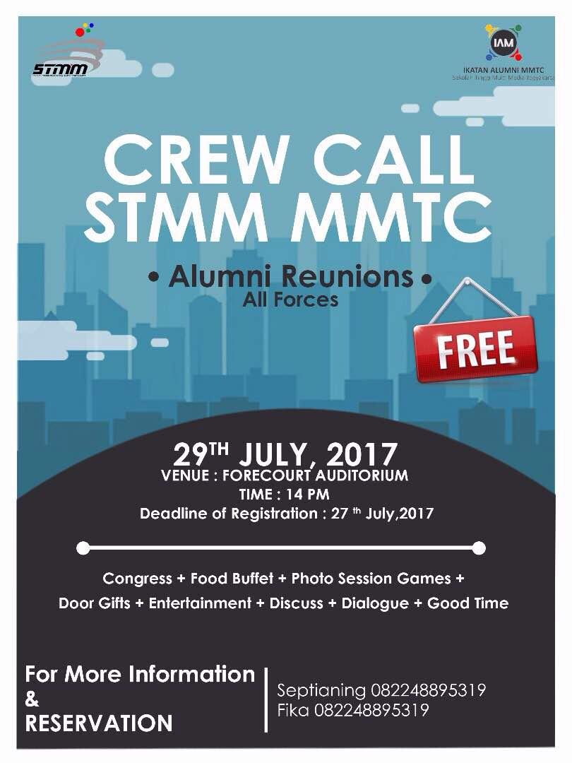 Crew Call STMM MMTC