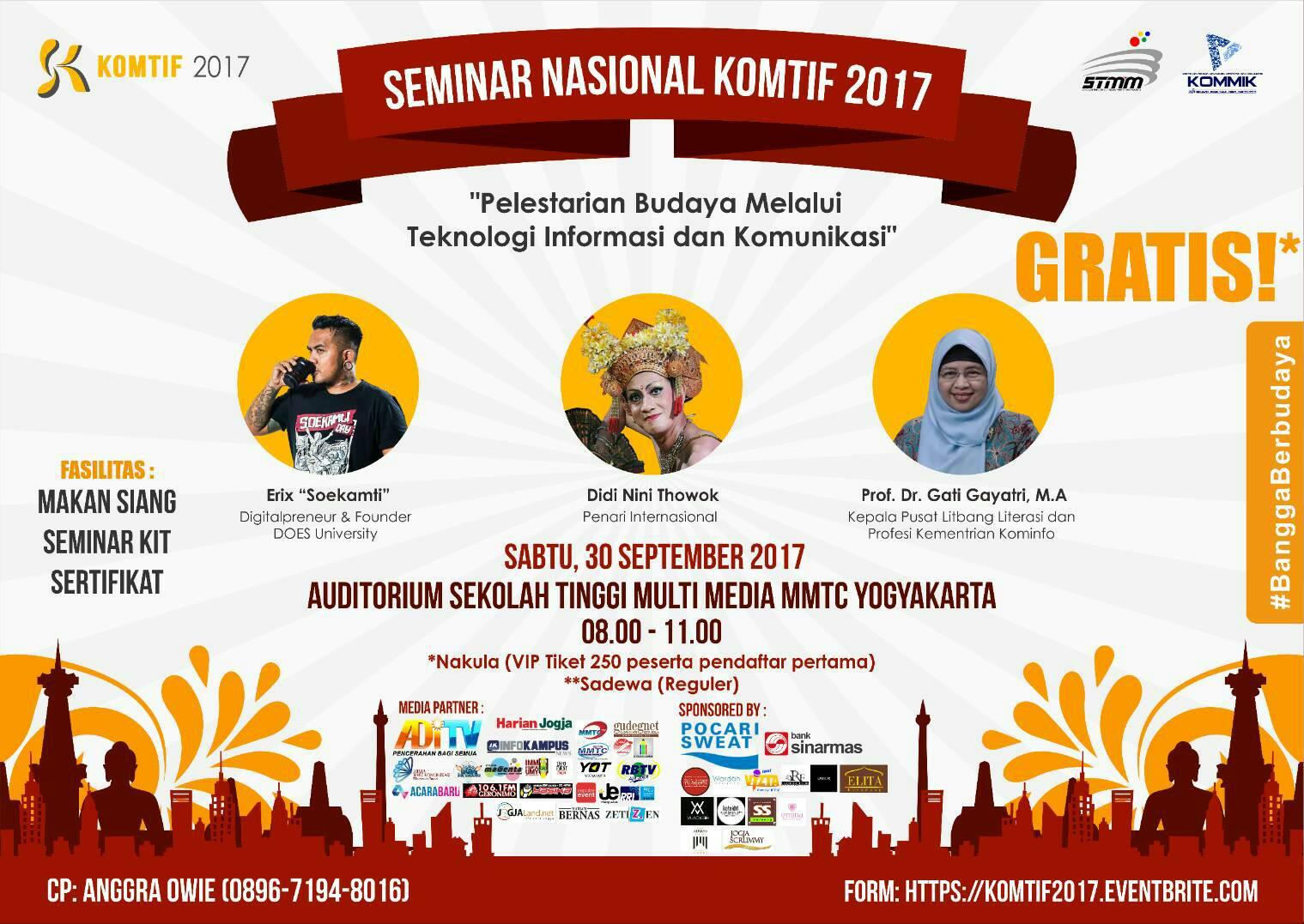 Seminar Nasional KOMTIF 2017