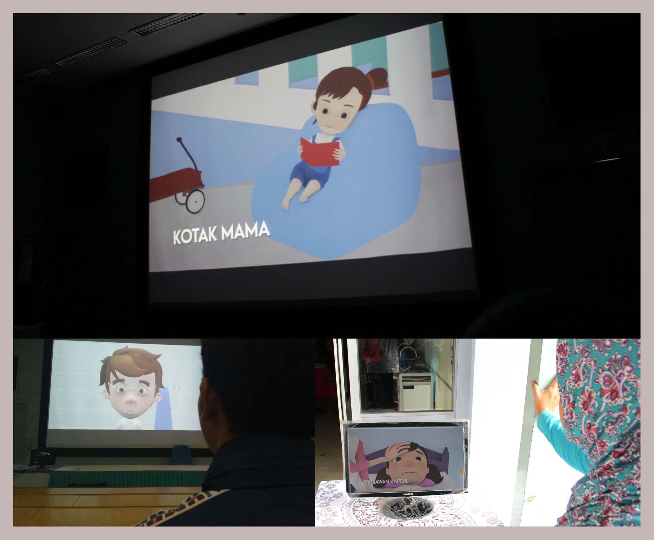 STMM Putar 20 Animasi Pendek