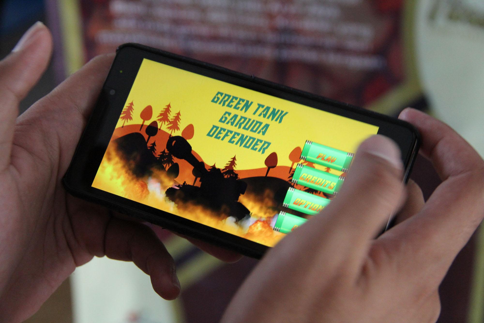 Angkat Kearifan Lokal,  Mahasiswa Desain Teknologi Permainan Gelar Pameran Karya
