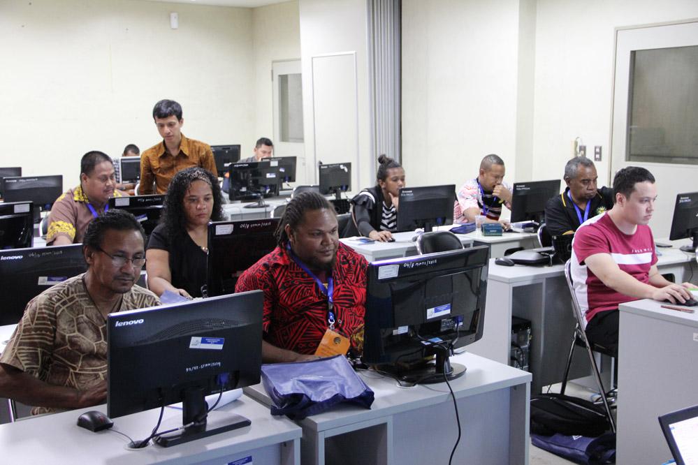 Worskhop Online Journalism Bagi Wartawan Negara Pasifik Selatan