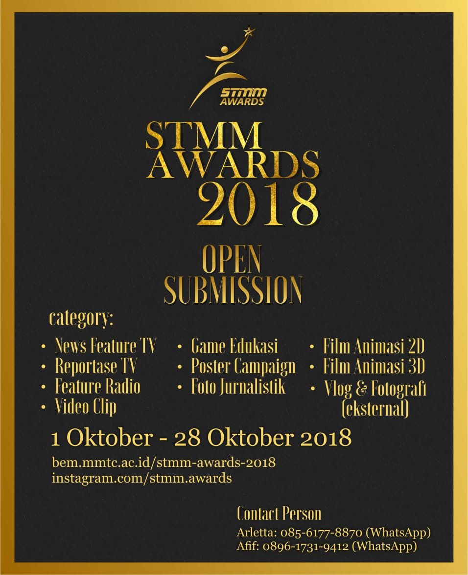 STMM AWARDS 2018