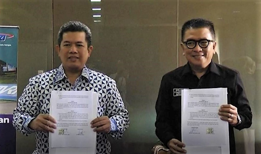 TVRI Berharap Alumni STMM Bisa Wujudkan Program Milenial  -STMM MoU dengan TVRI