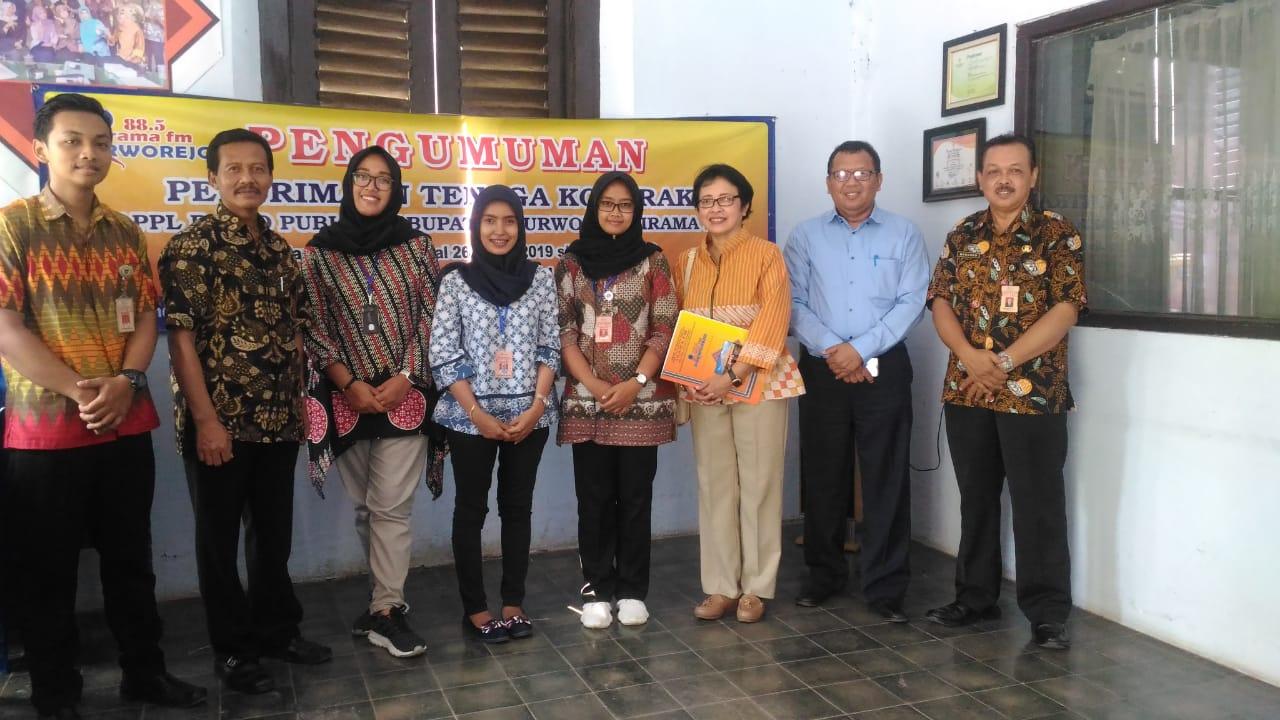 Dosen STMM Laksanakan Pengabdian Kepada Masyarakat di Radio Irama FM Pemkab Purworejo