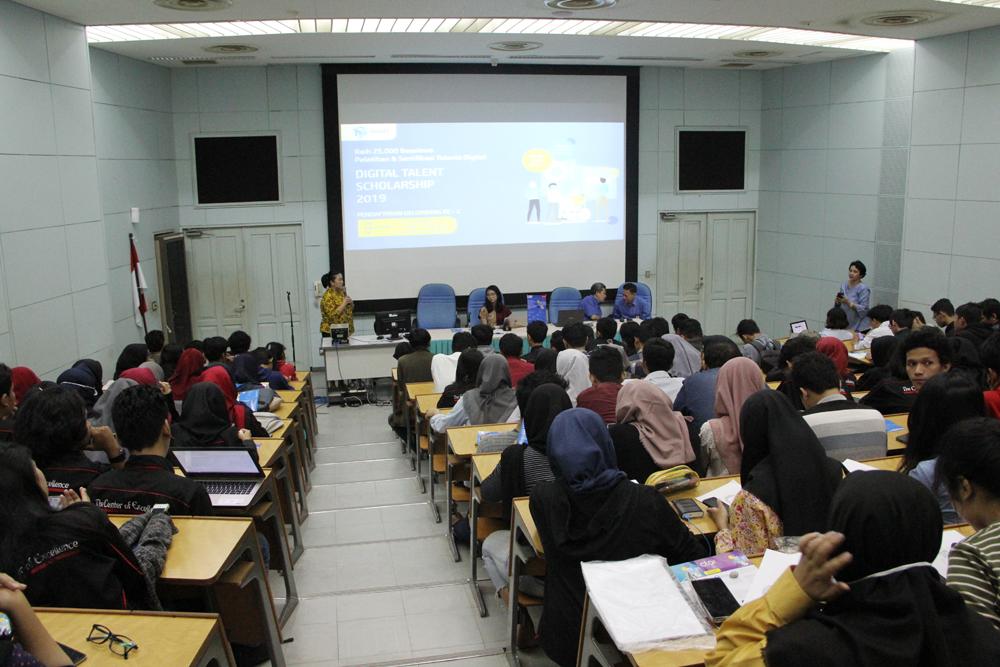 """Raih 25.000 Beasiswa Pelatihan dan Sertifikasi Talenta Digital  """"Digital Talent Scholarship 2019"""""""
