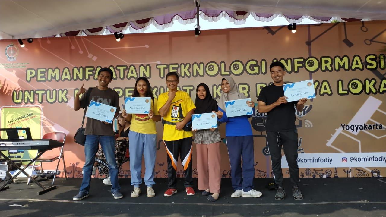 Inasa Abiyani F dan Elita Azmi K. (Mahasiswa Prodi Manarita) Raih Juara 2 Lomba Amazing Race Video Competition Tk. Provinsi D I Yogyakarta