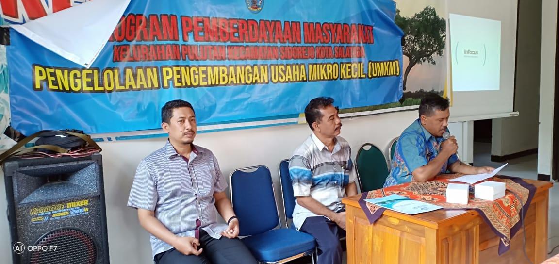 Pengabdian kepada Masyarakat: Prodi Teknologi Permainan Adakan Pelatihan bagi UKM Kelurahan Pulutan, Kecamatan Sidorejo, Kota Salatiga, Jawa Tengah.