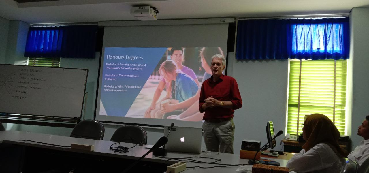 Penjajakan Program Kerjasama STMM dan Deakin University Australia