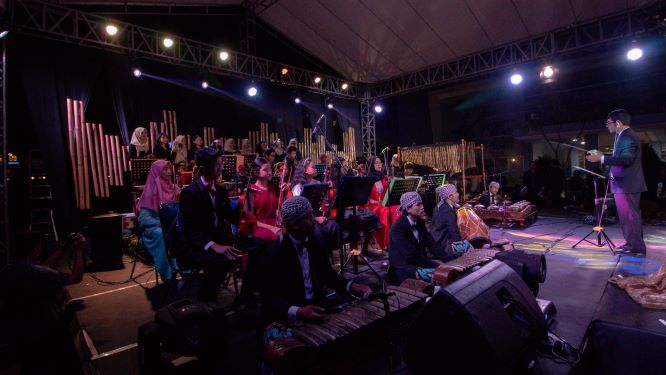 Konser Musik Mahakarya Sukses Memukau Penonton