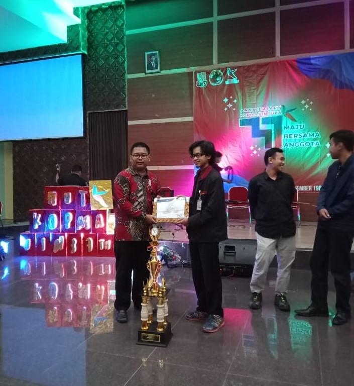 Nurdin Arba Arridho Aktivis KOPMA STMM Raih 2 Gelar Bergengsi Dalam HUT Kopma UIN Yogyakarta