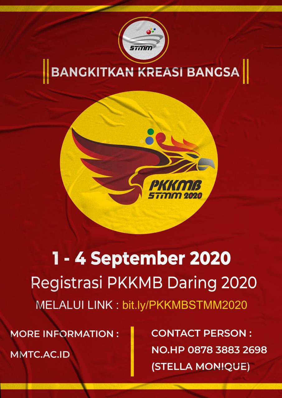 """PKKMB STMM """"MMTC"""" 2020: Sekolah Tinggi Multi Media Berkarya, Berkreasi Songsong Masa Depan Digital"""