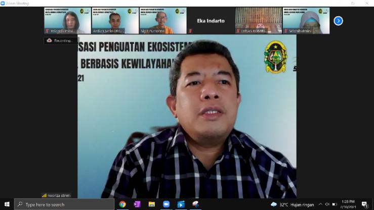 KKN STMM Dukung Kolaborasi Pentahelix 5K Dalam Program Penguatan Ekosistem Digital