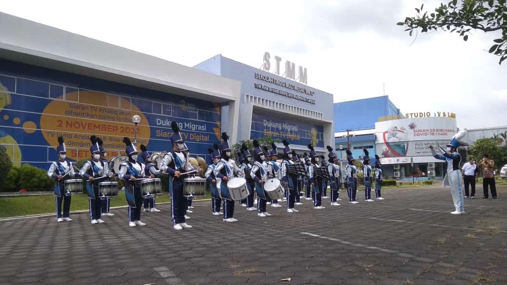 UKM Marching Band STMM Resmi Dikukuhkan